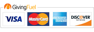 Giving Fuel accepts Major Credit Cards